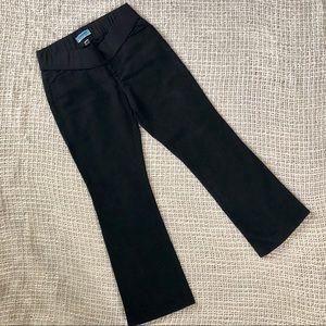 Old Navy Black bootcut maternity pants